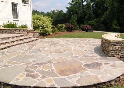 Sunning Slate Patio